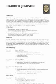 Hart Security Officer Sample Resume Simple Safety Officer Resume Sample Impressive Security Ficer Resume