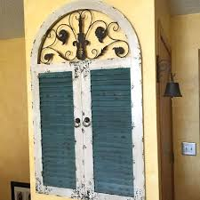 decoration wall art beautifully idea distressed decor with find more large wooden faux window valuable