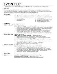 Resume Example Objective Automotive Resume Objective Joefitnessstore Com