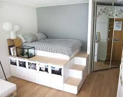 view in gallery ikea platform bed diy