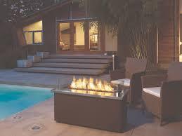 outdoor propane fireplace design