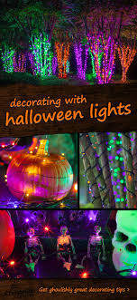diy halloween lighting. Halloween Lights And Decorations Reimagined From Christmas Diy Lighting