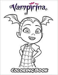 Amazoncom Vampirina Coloring Book Coloring Book For Kids And