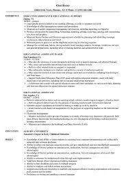 Educational Assistant Resume Samples Velvet Jobs