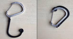 Carabiner Coat Rack Carabiner Has BuiltIn 'Hook' 10