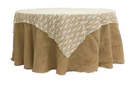 72 square lace table overlay topper ivory