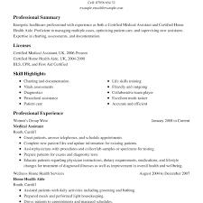 Resume Resume For Healthcare