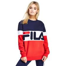 fila for women. cheap fila mcdermot sweatshirt blue for women sale online larger image