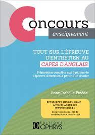 Tout Sur Lépreuve Dentretien Au Capes Danglais By To Groupe Issuu