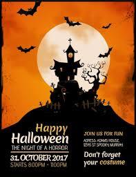 Halloween Template Halloween Flyer Template Postermywall