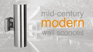 Modern Interior Design Outdoor Modern Wall Light - Exterior sconce lighting
