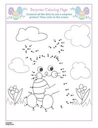 Kindergarten Easter Coloring Pages Activities Obsession Easter