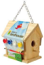 Birdhouse Amazoncom Toysmith Paint A Birdhouse Kit Bird Houses Toys