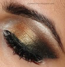 create a golden smokey eye free tutorial with pictures on how to create a smokey