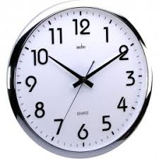 office wall clocks large. Orion Silent Sweeping White Wall Clock 32cm Office Clocks Large 1