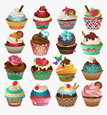The cup cake coloring pages feature both simple cup cake images as well as more complex pictures with elaborate toppings. Cupcake Free Printable Clipart And Coloring Pages Transparent Cute Cupcake Hd Png Download Transparent Png Image Pngitem