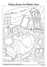 Small Picture Mad Hatters Tea Party Colouring Page