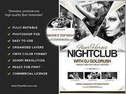 Fh Nightclub Flyer Template - Flyerheroes