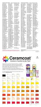 Ceramcoat Color Chart For The Complete Online Ceramcoat Color Chart Delta