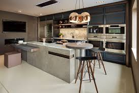 more importantly than the visual impact the practicality of a kitchen island is of course integral if your space is very large an island is a valuable