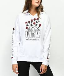 Empyre Fredia Whatever Rose White Hoodie Baby In 2019
