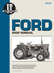 tractor shop service repair manuals from clymer ford fordson gasoline diesel tractor service repair manual