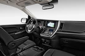 Toyota Pulls Wraps Off New Sienna 2015 Toyota Sienna SE interior ...