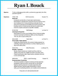 Cool Tips You Wish You Knew To Make The Best Carpenter Resume