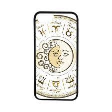 Rubber Compatibility Chart Amazon Com Zodiac Decor Rubber Phone Case Circular Zodiac