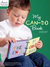 my can do book plastic canvas pattern