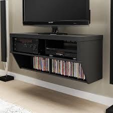 prepac furniture black wall mounted tv stand