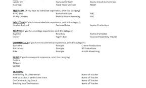 Resume Templates For No Experience Keralapscgov