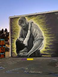 New mural of GiGi and Kobe on Melrose ...