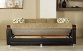 sleeper sofa storage in two tone by bellona