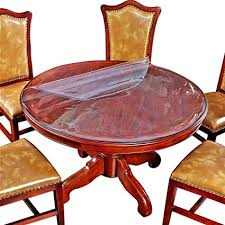 Expensive wood dining tables Seat Dining Round Clear Plastic Tablecloths Furniture Dining Room Table Protector Thick Protective Desk Cover Pvc Vinyl Tabletop Tejnewsinfo Amazoncom Round Clear Plastic Tablecloths Furniture Dining Room