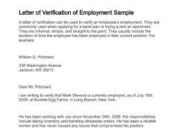 Proof Of Employment Letters Verification Forms Samples Debt