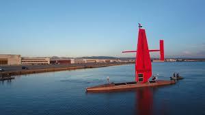 72 ft autonomous saildrone sets out on