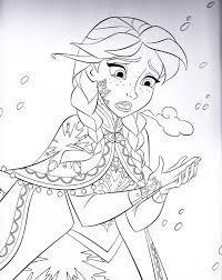Tổng hợp các bức tranh tô màu công chúa Anna đẹp nhất dành tặng cho bé    Princess coloring pages, Disney colouring, Disney princess coloring pages
