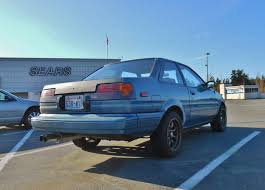 Seattle's Parked Cars: 1986 Toyota Corolla GT-S