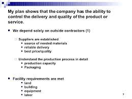 business plan evaluation 7 my plan business plan evaluation pdf
