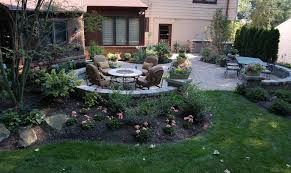 photo of patio landscaping ideas backyard patio and landscape design build ideas in columbus exterior decor suggestion