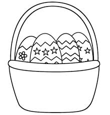 23 Easter Basket Coloring Pages Printable Free Coloring Pages