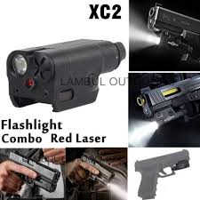 Compact Laser Light Combo Us 46 44 57 Off Xc2 Ultra Laser Light Compact Pistol Flashlight Combo Red Dot Laser Tactical Led Mini White Light 200 Lumens Airsoft Flashlight In