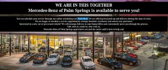 Unless otherwise noted, all vehicles shown on this website are offered for sale by licensed motor vehicle dealers. Mercedes Benz Of Palm Springs Luxury Auto Dealership In Ca