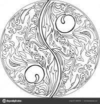 Mandala Gatto Da Colorare