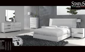 Dream White Bedroom Set 5pc At Home USA Italy