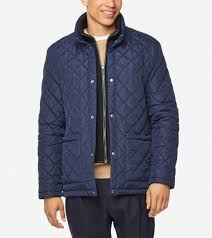 Cole Haan Jacket Size Chart Mens Diamond Quilted Jacket In Navy Cole Haan Us