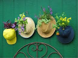Decorating With Hats Beautiful House With Nice Outdoor Decor Of Hanging Creative Flower