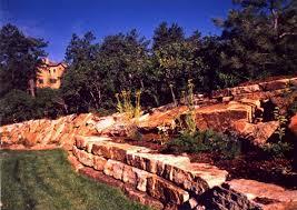 Small Picture Hand Stack Retaining Walls Colorado Quarry Denver