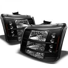 XTUNE 2003-2006 Chevy Silverado 1500/2500/3500 Headlights + DRL
